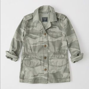 Abercrombie Camo Shirt Jacket NWT